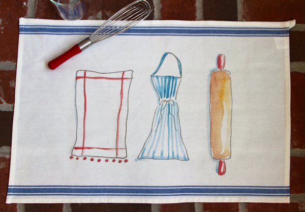 Ready, Set, Dough Tea Towel