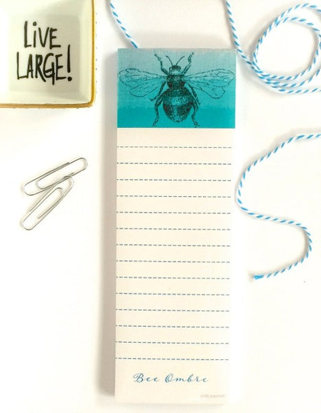 Bee Ombre Notepad