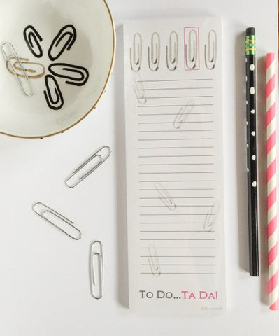 To Do...Ta Da! Notepad