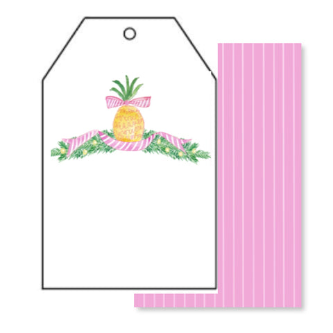 Pineapple Wishes Gift Tags