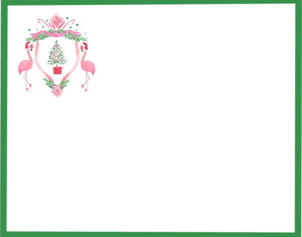 Ho, Ho, Flamingo Holiday Card Suite