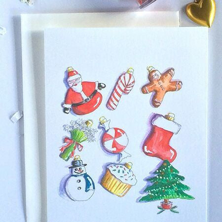 Deck the Halls Note Cards