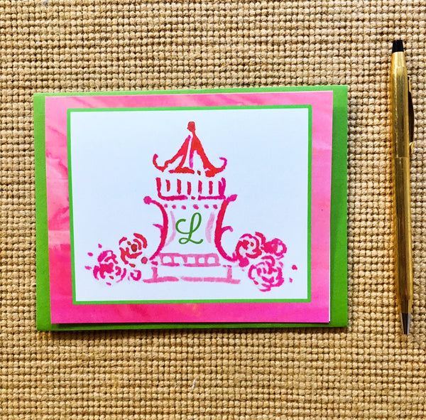 Pagoda Princess Note Cards