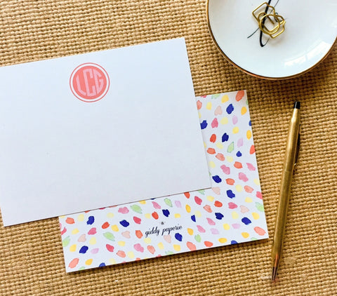 Confetti Cause-Note Card