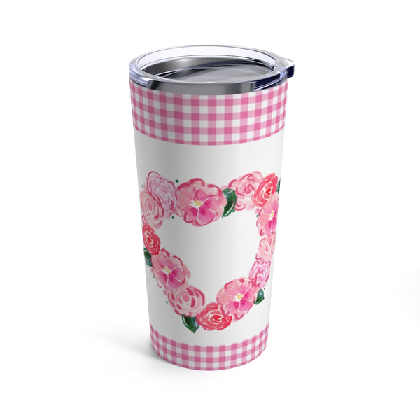 Heart Happy Tumbler 20oz