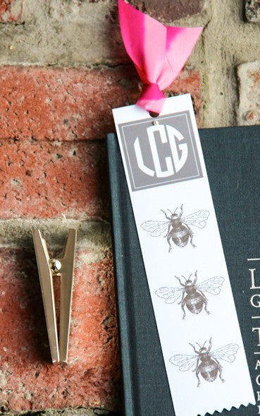 Busy Bee Bookmark