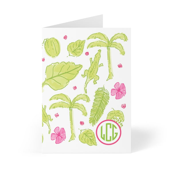 Perfect Palm Note Cards