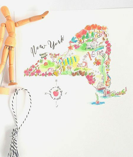 The Big Apple Print