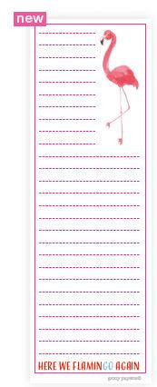 Fancy Flamingo Notepad