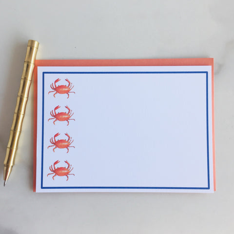 Deluxe Don't be Crabby Note Cards