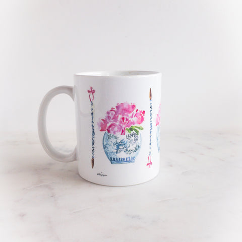 Peonies Please Mug