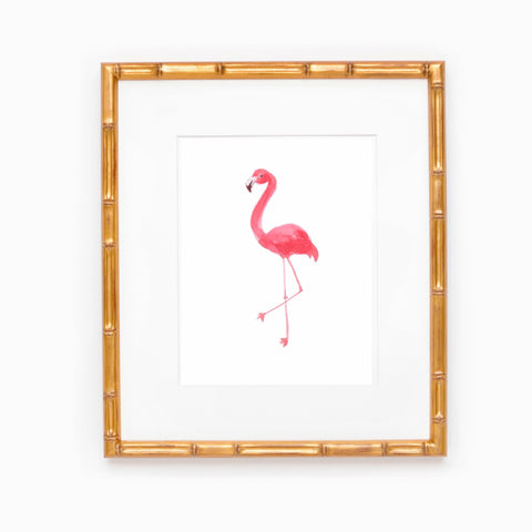 Fancy Flamingo Print