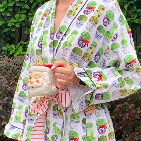 Holiday Topiary Robe