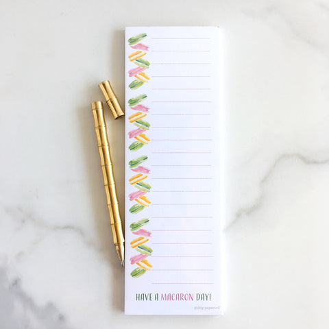 Macaron Day Notepad - Wholesale