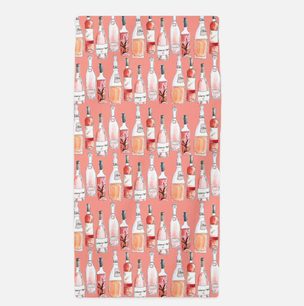 The Annie Rosé Beach Towel