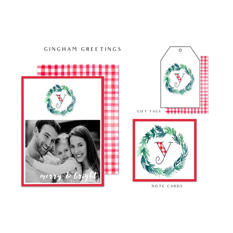 Gingham Greetings
