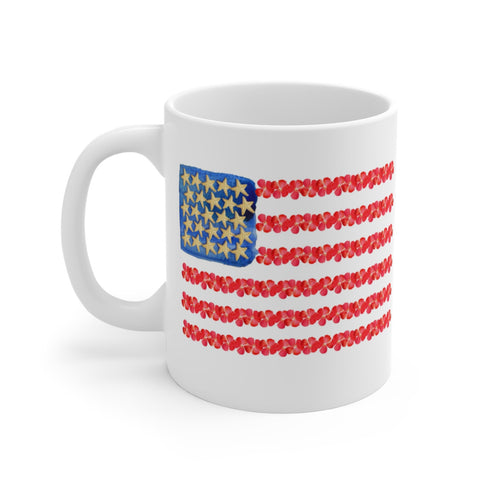 Starfish and Stripes Forever mug
