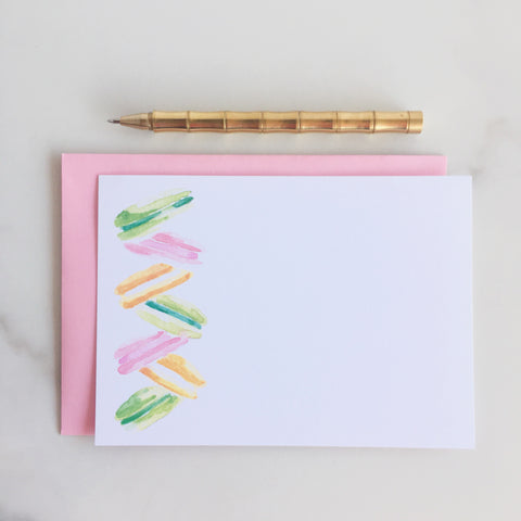 Deluxe Le Macaron Note Cards