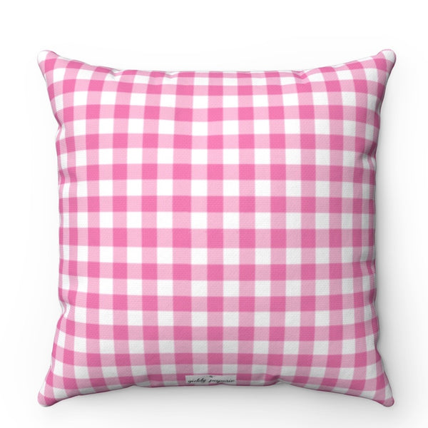 Happy Heart Square Pillow