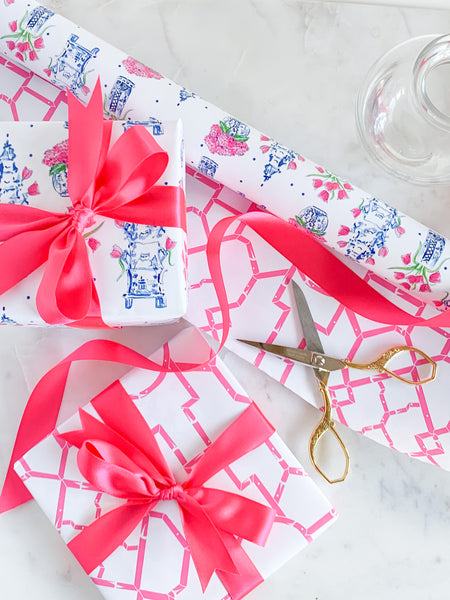 Tulipiere wrapping paper