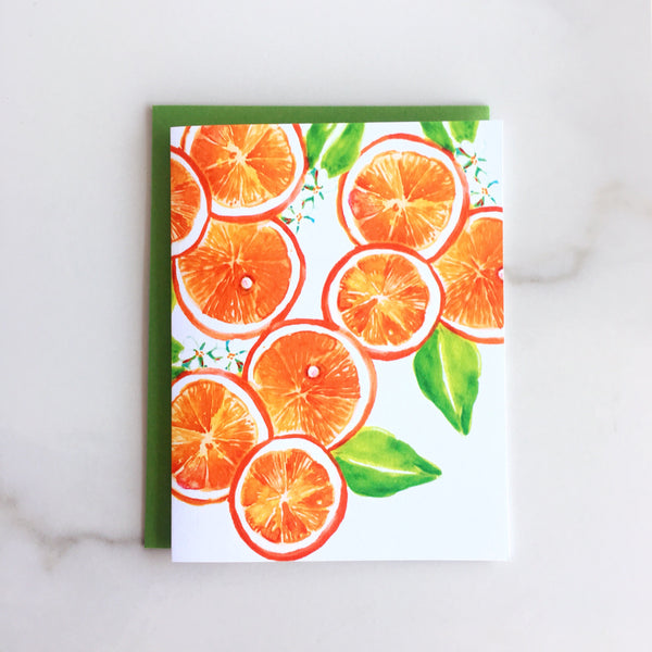 Orange you Glad Note Cards