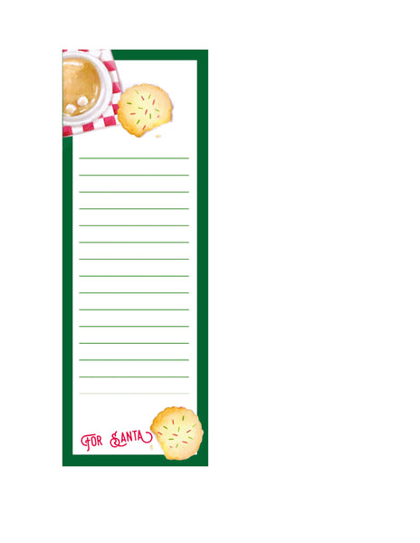 For Santa Notepad