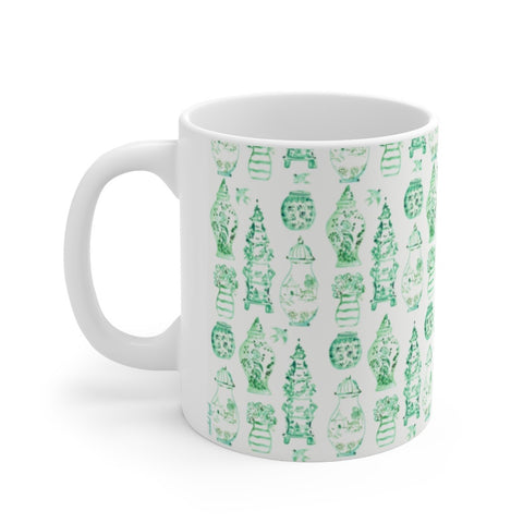 Holiday Greens mug