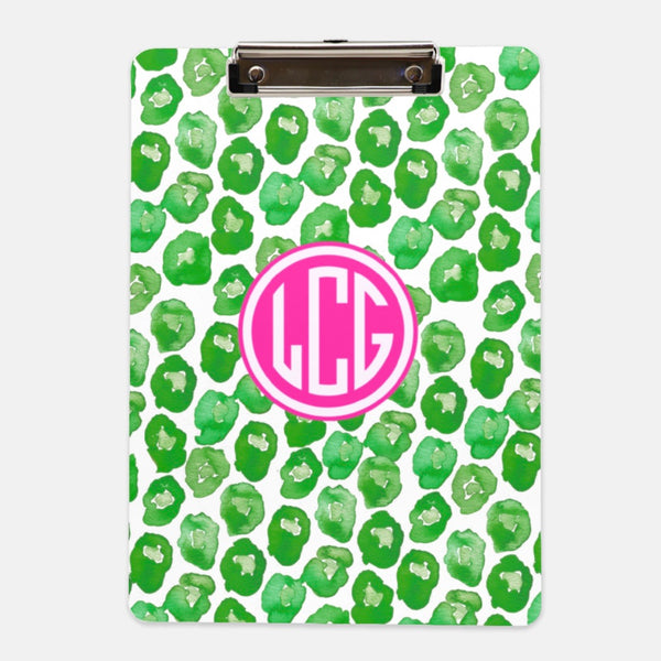 Leaping Leopards clipboard