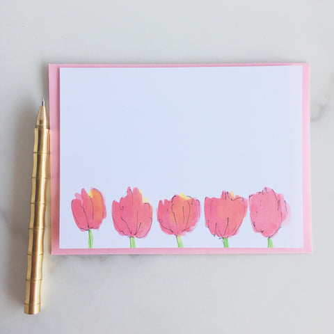 Deluxe Le Tulip Note Cards