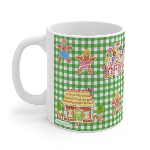 Gingerbread Family mug