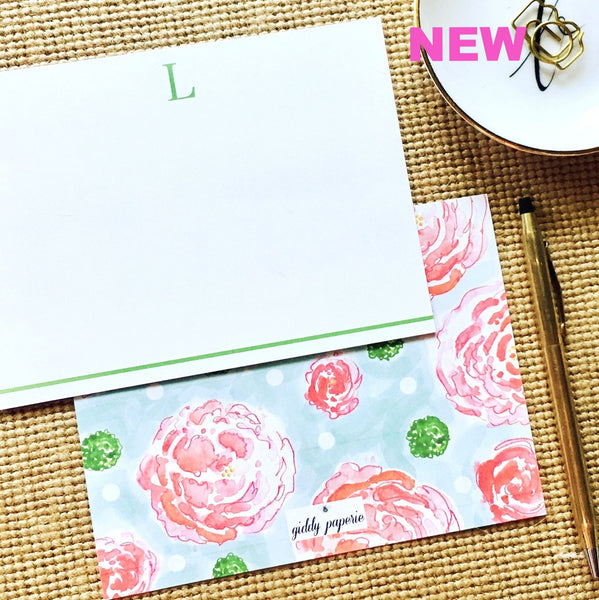 Peony Pop-Note Card Set