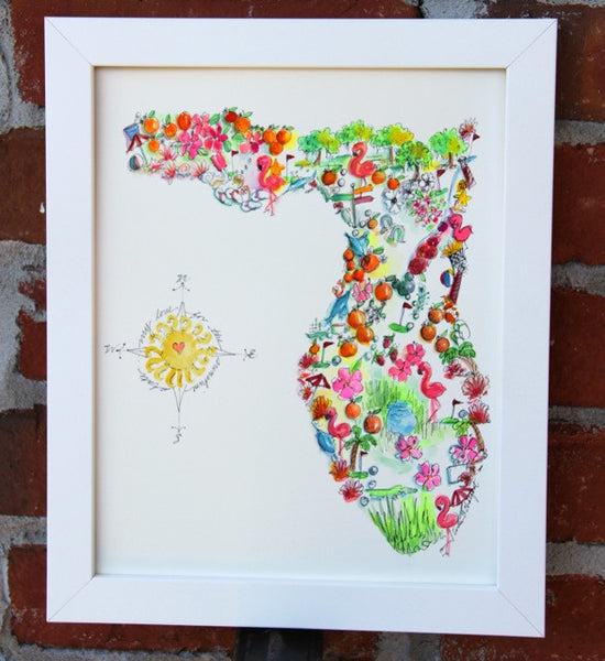 Florida Favorites Print