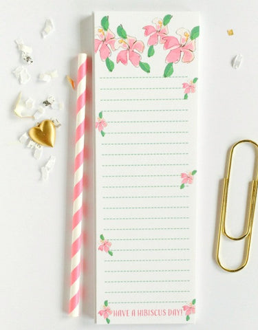 Hibiscus Day Notepad