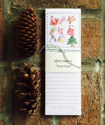 Deck those Halls Notepad