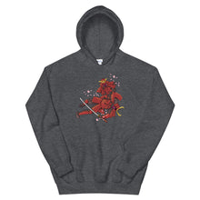 Load image into Gallery viewer, Jiu-Jitsu Samurai Hoodie