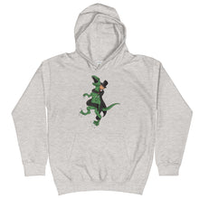Load image into Gallery viewer, Youth Abe Lincoln RNC Velociraptor Hoodie