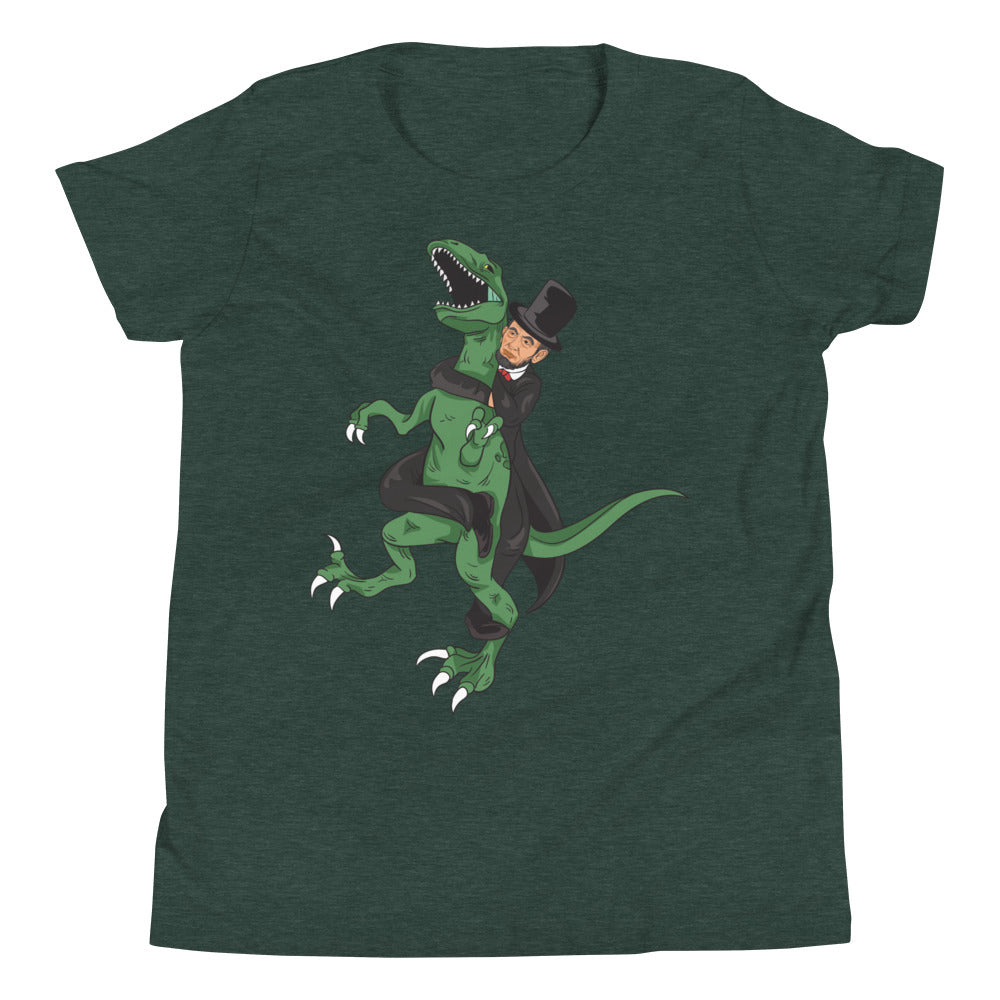Youth Abe Lincoln RNC Velociraptor Tee