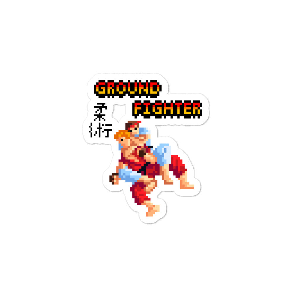 Ground Fighter Sticker