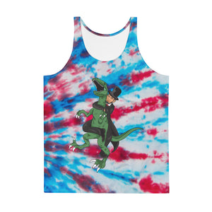 Secret Abe Lincoln Choke Tank Top