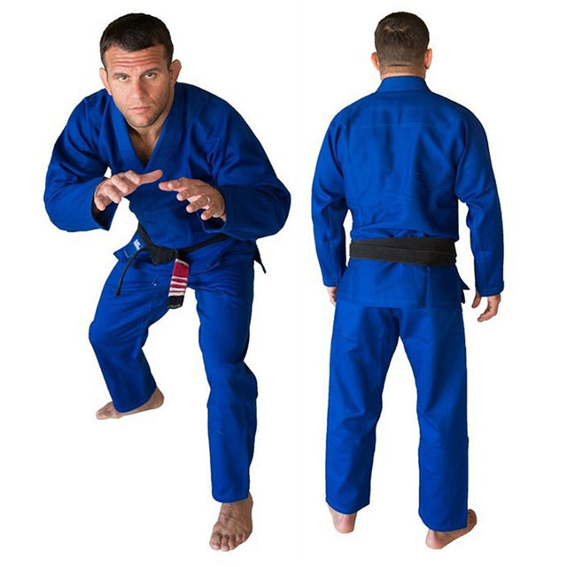 Adult Minimalist BJJ Kimono Blue *Delayed Shipping