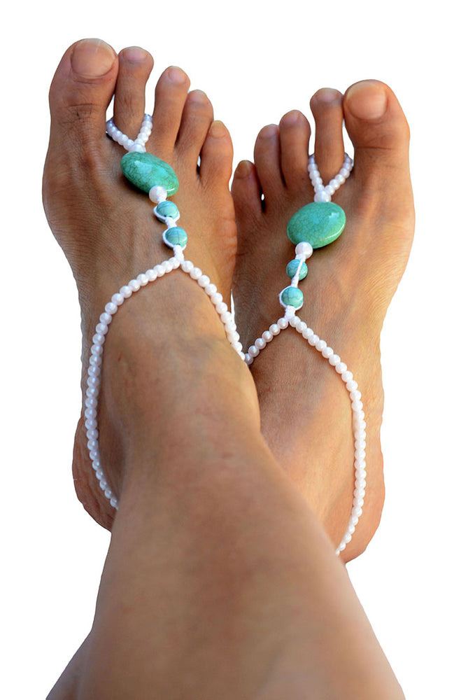 Alectrona Beach Wedding Barefoot Sandals_02