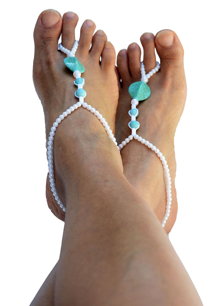 Antheia Beach Wedding Barefoot Sandals_02
