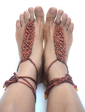 Theia Barefoot Sandals Bronze