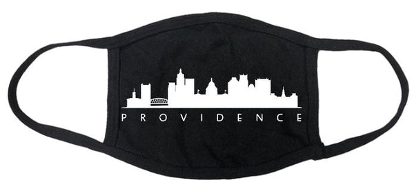 Providence Skyline Cotton Mask