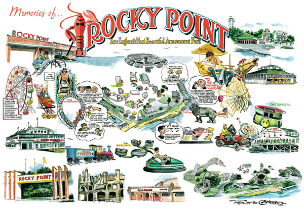 Frankie Galasso's Rocky Point Postcard