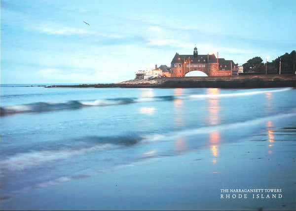 Narragansett Towers postcard