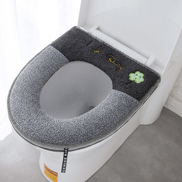 Luminous Zipper Toilet Seat