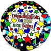 "Congratulations On Your New Baby Balloon 1 Pc, 18"" MYLAR Balloon - Shop-bestdealz"