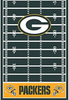 Green Bay Packers Football Decorations | Wall Helmet Cutouts, Balloons, Pennant Banner & Table Cover - Shop-bestdealz
