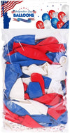4th of July Patriotic Balloons | I Love USA | Land That I Love | 100 PCS - Shop-bestdealz